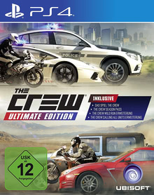 Verpackung von The Crew Ultimate Edition [PS4]