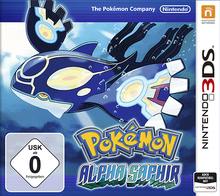 Verpackung von Pokemon Alpha Saphir [3DS]