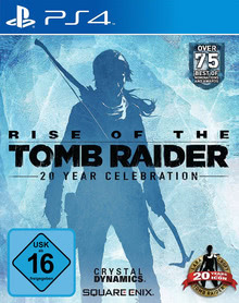 Verpackung von Rise of the Tomb Raider: 20 Year Celebration [PS4]