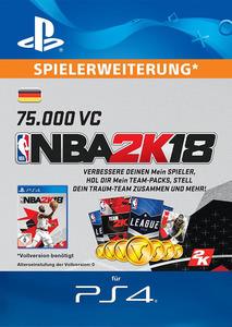 Verpackung von NBA 2K18 75.000 VC [PS4]
