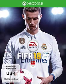 Verpackung von Fifa 18 [Xbox One]