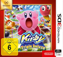 Verpackung von Kirby: Triple Deluxe Selects [3DS]