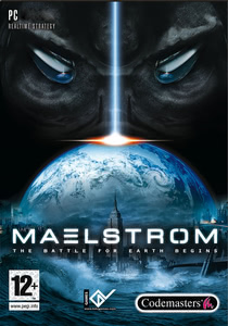 Packaging of Maelstrom: The Battle for Earth Begins [PC]