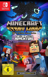 Verpackung von Minecraft: Story Mode - The Complete Adventure [Switch]