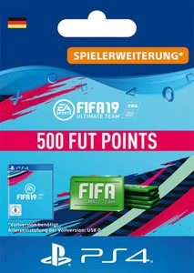 Verpackung von Fifa 19 500 FUT Points Pack - Ultimate Team [PS4]
