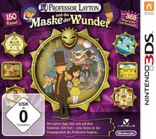 Verpackung von Professor Layton und die Maske der Wunder [3DS]