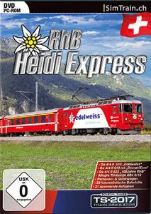 Verpackung von Train Simulator 2016 - Heidi Express RhB [PC]