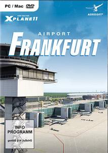 Verpackung von X-Plane 11 AddOn Airport Frankfurt [PC / Mac]