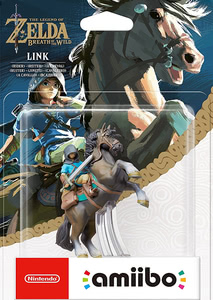 Verpackung von amiibo - The Legend of Zelda Collection Link Reiter (Breath of the Wild) [Wii U / 3DS / Switch]