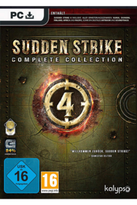 Packaging of Sudden Strike 4 Complete Edition [PC]
