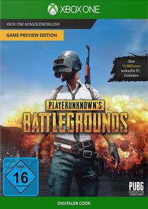 Verpackung von PLAYERUNKNOWN'S BATTLEGROUNDS [Xbox One]