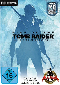 Verpackung von Rise of the Tomb Raider 20 Year Celebration D1 Edition [PC]