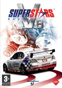 Packaging of Superstar V8 Racing [PC]