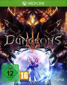 Verpackung von Dungeons 3 [Xbox One]