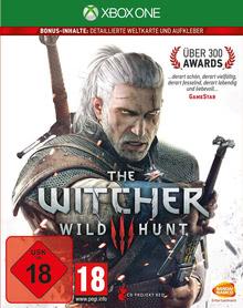 Verpackung von The Witcher 3: Wild Hunt (2. Auflage) [Xbox One]