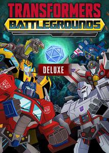 Verpackung von Transformers: Battlegrounds Deluxe Version [PC]