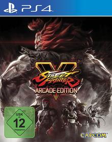 Verpackung von Street Fighter V Arcade Edition [PS4]