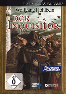 Packaging of The Inquisitor by Wolfgang Hohlbein [Mac]