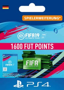 Verpackung von Fifa 19 1600 FUT Points Pack - Ultimate Team [PS4]