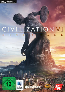 Packaging of Sid Meier's Civilization VI Rise and Fall [Mac]