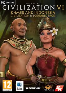 Packaging of Sid Meier's Civilization VI Khmer and Indonesia Civilization & Scenario Pack [Mac]