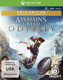 Verpackung von Assassin's Creed Odyssey Gold Edition [Xbox One]