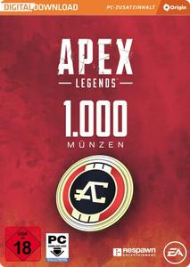Verpackung von Apex Legends 1000 Coins [PC]