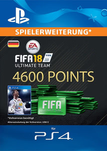 Verpackung von FIFA 18 4600 FUT Points Pack - Ultimate Team [PS4]