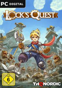 Verpackung von Lock´s Quest [PC]
