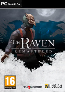 Packaging of The Raven Remastered [PC]