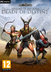Packaging of Realms of Arkania: Blade of Destiny [PC]