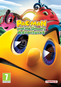 Packaging of Pac-Man and the Ghostly Adventures [PC]