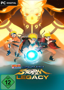 Verpackung von Naruto Shippuden: Ultimate Ninja Storm Legacy [PC]