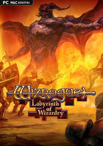 Packaging of Wizrogue - Labyrinth of Wizardry [PC / Mac]
