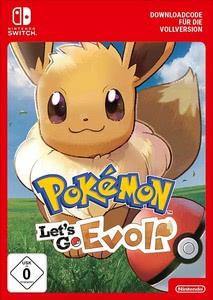 Verpackung von Pokémon Let's Go, Evoli! [Switch]