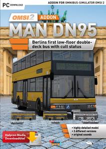 Verpackung von OMSI  Add-on MAN DN95 [PC]