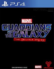 Verpackung von Guardians of the Galaxy - The Telltale Series [PS4]