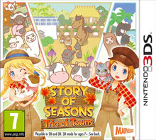 Packaging of Story of Seasons: Trio of Towns [3DS]