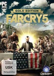 Verpackung von Far Cry 5 Gold Edition [PC]