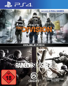 Verpackung von Tom Clancy's: Rainbow Six Siege & The Division [PS4]
