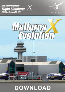 Packaging of FSX Mallorca X Evolution [PC]