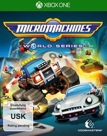 Verpackung von Micro Machines World Series [Xbox One]