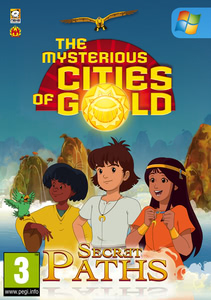 Packaging of The Mysterious Cities of Gold: Secrets Paths [PC]