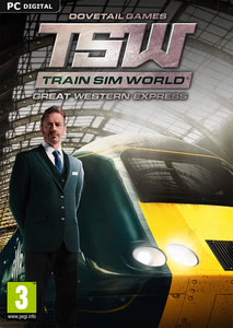 Packaging of Train Sim World Great Western Express [PC]