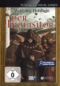 Verpackung von Der Inquisitor von Wolfgang Hohlbein [Mac]