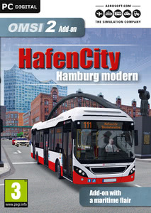Packaging of OMSI 2 Add-On HafenCity - Hamburg modern [PC]