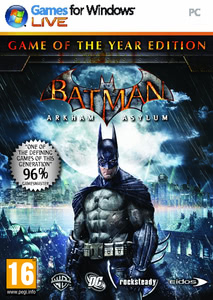 Packaging of Batman: Arkham Asylum Game of the Year Edition [PC]