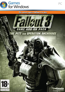 Packaging of Fallout 3 DLC: The Pitt [PC]