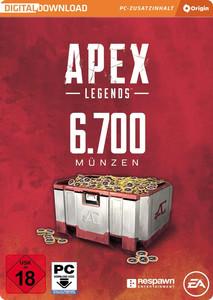 Verpackung von Apex Legends 6700 Coins [PC]