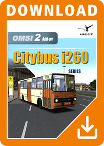 Packaging of OMSI 2 Add-On Citybus i260 Series [PC]